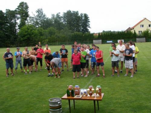 Memoriál FK 2014- vyhlášení výsledků turnaje