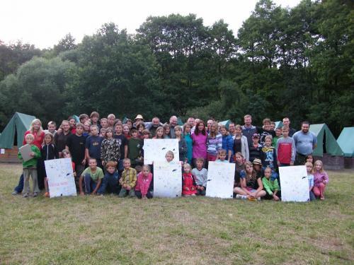 tábor obořice 2012
